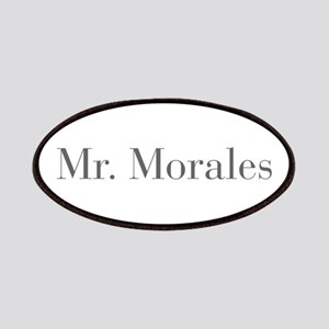 Mr Morales-bod gray Patches