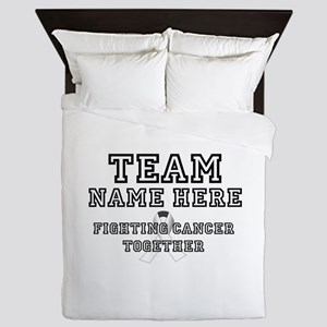 Personalize Team Queen Duvet