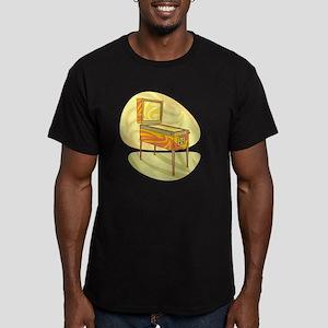 Pinball Men's Fitted T-Shirt (dark)
