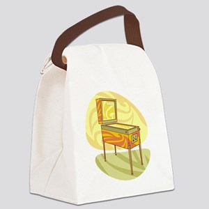 Pinball Canvas Lunch Bag