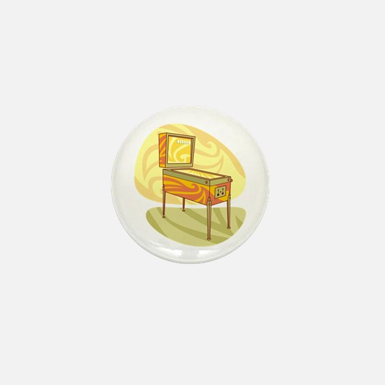 Pinball Mini Button