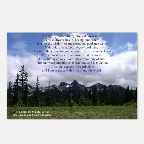 Mindful Living Postcards (Package of 8)