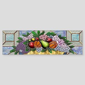 Harvest Moons Fruit Bowl Bumper Sticker