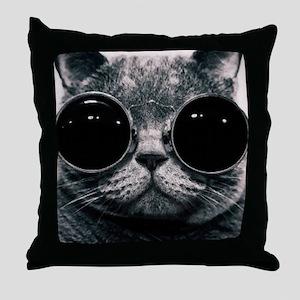 glasses Throw Pillow