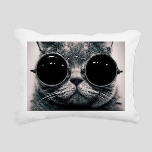 glasses Rectangular Canvas Pillow