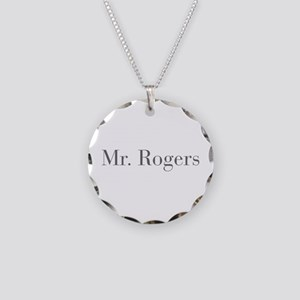 Mr Rogers-bod gray Necklace