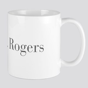 Mr Rogers-bod gray Mugs