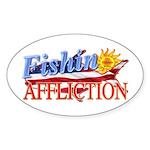 Florda Keys Fishin Affliction Sticker (oval)