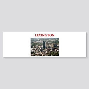 lexington Sticker (Bumper)