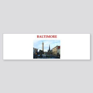 baltimore Sticker (Bumper)