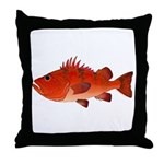 Cow Cod Throw Pillow