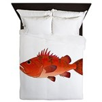 Cow Cod Queen Duvet