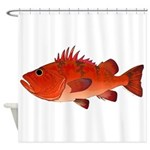 Cow Cod Shower Curtain