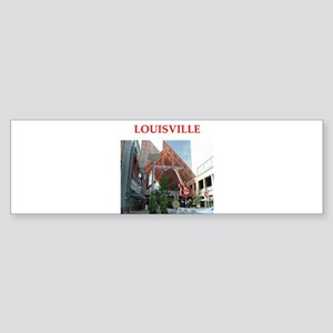louisville Sticker (Bumper)