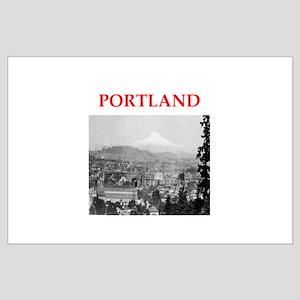 portland Large Poster