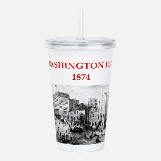 washington Acrylic Double-wall Tumbler