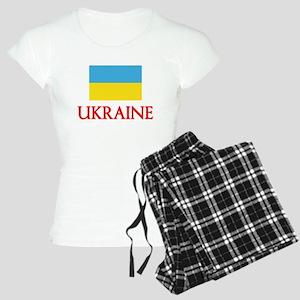 Ukraine Flag Design Pajamas