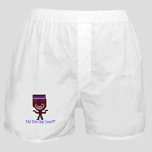 Luau Tiki Boxer Shorts