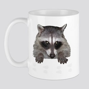 Raccoon and Tracks Mug