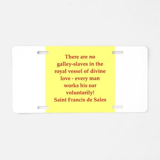 fd144 Aluminum License Plate