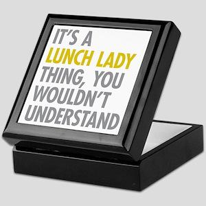 Lunch Lady Thing Keepsake Box