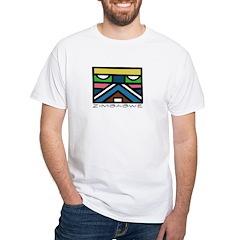 Ethnic Zim Light White T-Shirt