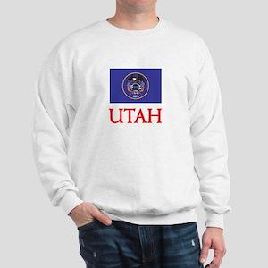 Utah Flag Design Sweatshirt