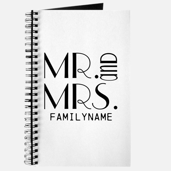 Personalized Mr. Mrs. Journal