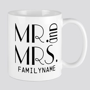 Personalized Mr. Mrs. Mug