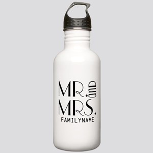 Personalized Mr. Mrs. Stainless Water Bottle 1.0L