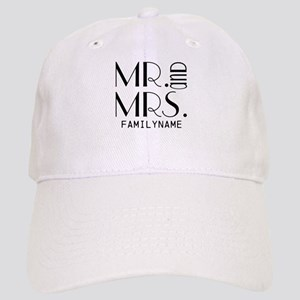 Personalized Mr. Mrs. Cap