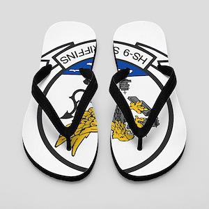 hs9_sea_griffins Flip Flops