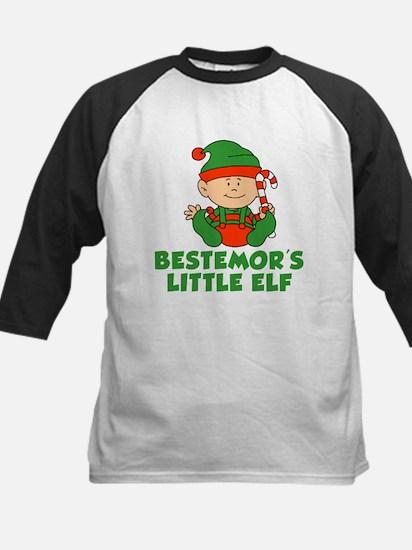 Bestemor's Little Elf Baseball Jersey