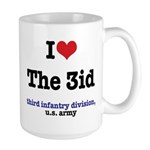 I (Heart) the 3id Large Mug