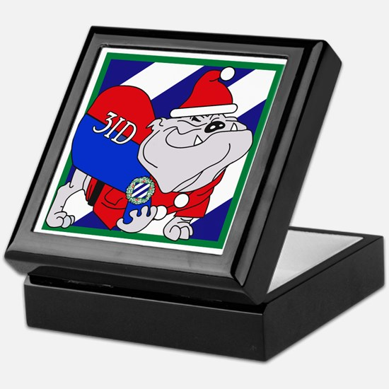 Rocky-Claus! Keepsake Box