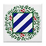 3ID Wreath Tile Coaster