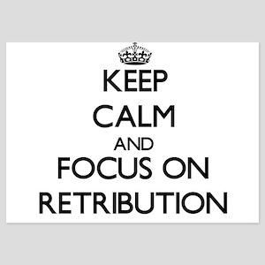 Keep Calm and focus on Retribution Invitations