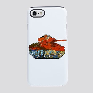 TANK ON iPhone 7 Tough Case