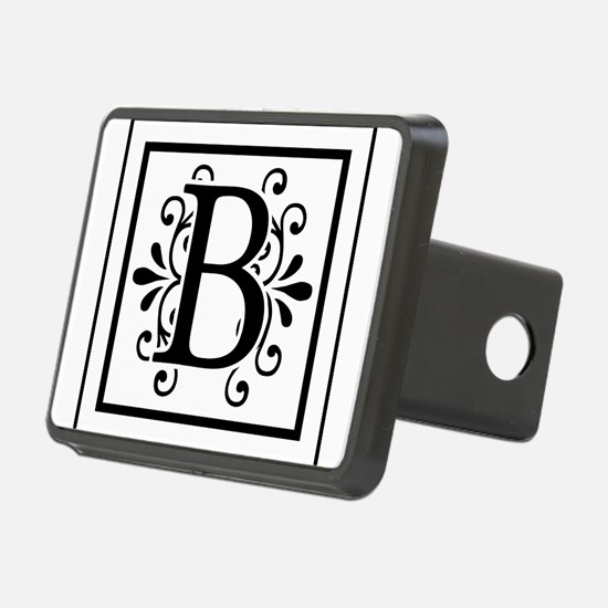 Letter B Monogram Hitch Cover