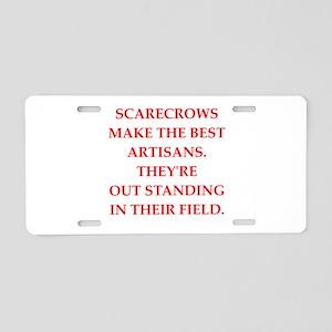 artisan Aluminum License Plate
