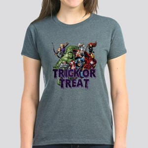 Avengers Assemble Trick or Tr Women's Dark T-Shirt