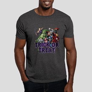 Avengers Assemble Trick or Treat Dark T-Shirt