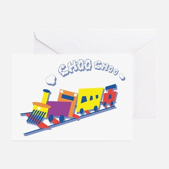 Choo Choo Train Greeting Cards (Pk of 10)