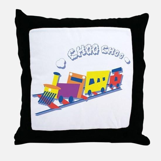 Choo Choo Train Throw Pillow