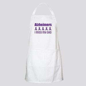 Alzheimers I Miss My Dad Apron