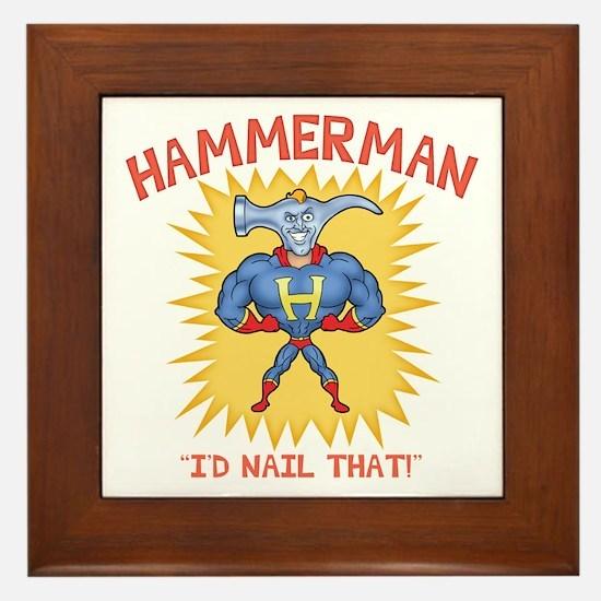 Hammerman II Framed Tile