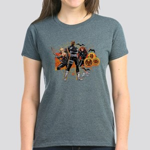 Avengers Assemble Halloween 5 Women's Dark T-Shirt