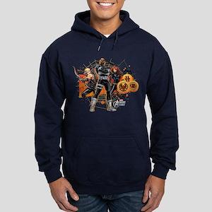 Avengers Assemble Halloween 5 Hoodie (dark)
