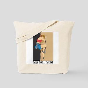 Women's Rock Climber Tote Bag