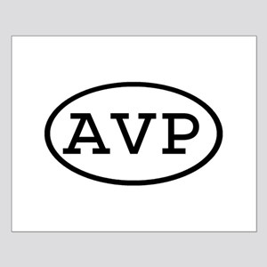 AVP Oval Small Poster